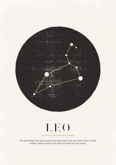 Zodiac Art, Leo Zodiac, Zodiac Signs, Leo Constellation Tattoo, Leo Horoscope, Horoscopes, Bullet Journal Banner, Leo Sign, Leo Tattoos