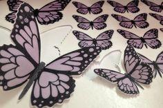 Paso a paso para decorar una tarta con Mariposas Precortadas en papel de arroz
