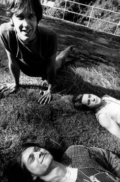 Krist Novoselic, Chad Channing and Kurt Cobain #Nirvana - May 1988