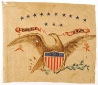 CIVIL WAR EAGLE FLAG American Flag, American History, Civil War Flags, Patriotic Symbols, America Civil War, Civil War Photos, Old Glory, Interesting History, World History