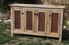YOUR Custom Rustic Barn Wood Credenza or Sideboard Dresser FREE SHIPPING by timelessjourney on Etsy
