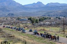 SAN CARLOS APACHE MARCH TO OCCUPY OAK FLAT PROMISE A FIGHT TO SAVE THEIR HOLY GROUND FROM THE GREED OF McCAIN, KIRKPATRICK, FLAKE, GOSAR AND THE RESOLUTION COPPER MINE !