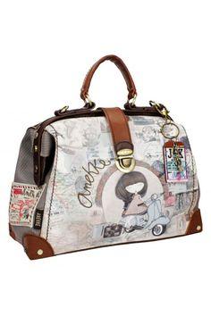 Τσάντα χειρός μπεζ Anekke Traveller 23710.1