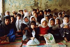 In the classroom at the School of Hope, in Kabul - Afghanistan