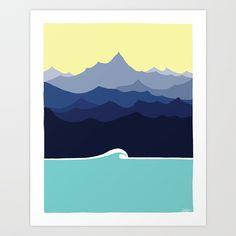 Horizons Art Print