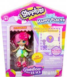 Shopkins Game, Shopkins Season 5, Lego Girls, Toys For Girls, Shopkins Happy Places, Shopkins And Shoppies, Lol Doll Cake, Rainbow Beach, Shopping