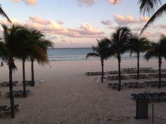 Beautiful beach at RIU Yucatan Playa Del Carmen Mexico Feb 26, 2016