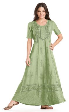 Shop Timandra Victorian Embroidered Lace Vtg Renaissance Dress Gown In Sage Green: http://holyclothing.com/index.php/timandra-victorian-embroidered-lace-vtg-renaissance-dress-gown.html. Repins are always appreciated :) #holyclothing #fashion #Victorian #Embroidered #Lace #Vintage #Renaissance #Dress #Gown