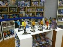 Star Trek toys at the Toy Museum in Natural Bridge, VA.