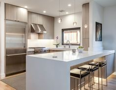 What's Trending In Kitchen DesignThe most popular kitchen layout among U.S. homeowners undertaking a renovation is L-shaped, according to a recent Houzz.com survey.