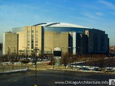 United Center - Chicago - MASSIVE arena.  Great place to see a hockey game.