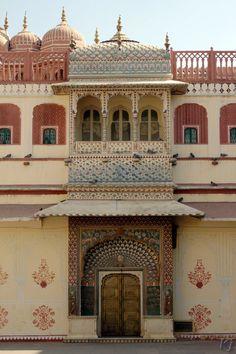 Lotus Gate (representing summer), City Palace, Jaipur, India