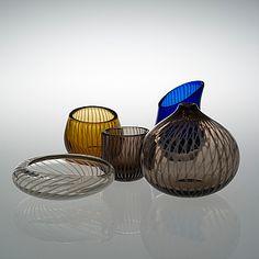 Glass Design, Design Art, Tallit, Bukowski, Finland, Modern Contemporary, Decorative Bowls, Retro Vintage, Objects