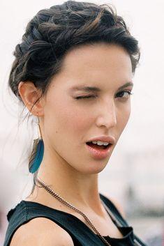 Vanessa Jackman: Paris Fashion Week SS 2012...Ruby