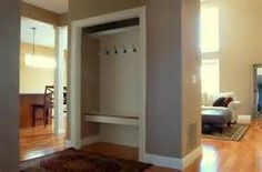 closet to mudroom - love this one! | Home Decor | Pinterest