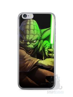Capa Iphone 6/S Yoda Star Wars - SmartCases - Acessórios para celulares e tablets :)