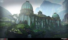 ArtStation - Uncharted 4 : Avery's Palace, Rogelio Olguin