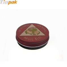 Custom vintage candy tin box with screw lid. http://www.tinpak.us/Products/ScrewCandyTinBox.html