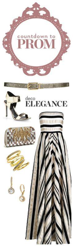 Prom 101: Deco Elegance Style