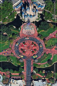 Love Scot Keating's aerial photography of Disney World!