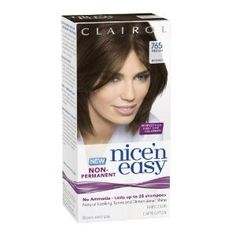 Clairol Nice 'N Easy Non-Permanent Hair Color 765 Medium Brown 1 Kit. #beauty, #skincare, #hair #color, #style