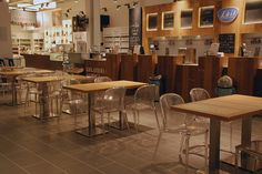 Kartell at Eataly Rome - Thalya by Patrick Jouin