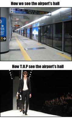 You werk that airport TOP!