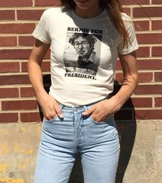 Running for Mayor Bernie Sanders Tshirt #feelthebern **this is a statement of style not my political position**