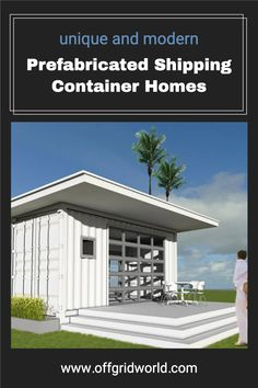 There are several manufacturers that build homes either by using shipping containers themselves, or by building modular homes that use a metal frame with the same dimensions of your average shipping containers, and then fill in the blanks with more conventional and cheaper materials. #shippingcontainer #containerhome #shippingcontainerhome #offgrid #prefab #modular Prefab Shipping Container Homes, Used Shipping Containers, Modular Homes, Sustainable Living, Sustainability, Fill, Eco Friendly, Metal, Building