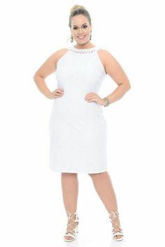 Vestidos casuales blancos para niрів±as