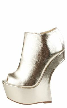 2bbce6cc5d7e Heel Less Sculpted Booties METALLIC GOLD - Shoes - Frequently updated  comprehensive online shopping catalogs