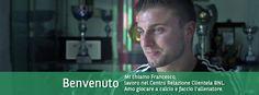 Francesco, lavora nel Centro Relazione Clientela e ama giocare a calcio. #BNL #BNLPeople Persona, People, People Illustration, Folk
