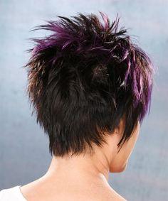 Short Hairstyle - Straight Alternative - Black | TheHairStyler.com