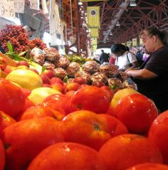 Tomatoes at Schweiger's Produce. Their family started in 1884.