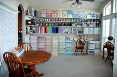 scrap book orginazation ideas room pics | Stacey's room is fantastic. I love all the colors and organization ...