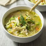 Chicken Zoodle Soup with Dill — Tastes Lovely