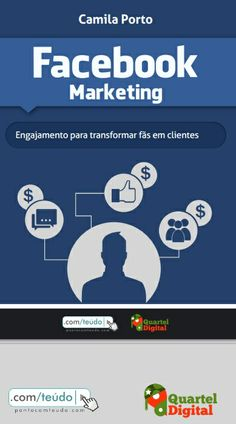 [eBook] Facebook Marketing, por Camila Porto, Quarte Digital. Link para download:   https://www.dropbox.com/s/jan53jpq1z8msdt/Ebook-Facebook-Marketing.pdf   Ebook #SocialMedia #MidiasSociais #Marketing #Facebook