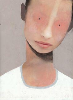 Guim Tio Zarraluki, No title available Creepy Art on Artsnapper Creepy Art, Weird Art, Arte Horror, Horror Art, Illustration Art, Illustrations, Art Graphique, Psychedelic Art, Portrait Art