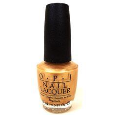 USC Gold Nail Polish by OPI