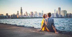 Passeios românticos em Chicago #viagem #ny #nyc #ny #novayork