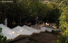 Casa sobre pendiente escalonada en Portugal de uso para vacaciones