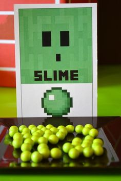 Slime at a Minecraft Party #minecraft #party