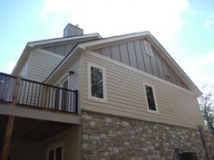Cedar impressions siding in autumn red is sure to make an for Lp smartside board and batten