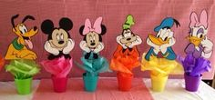 "Mickey Clubhouse Birthday Party Table Centerpieces Large 10"" by Hope2Create on Etsy"