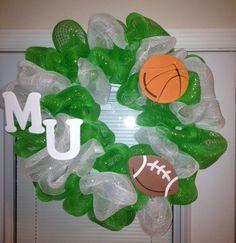 Marshall University Wreath.
