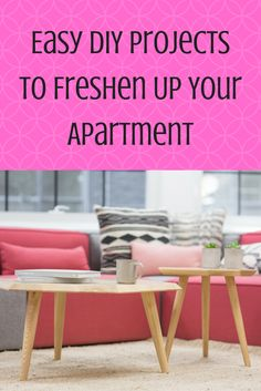Easy DIY Projects to Freshen Up Your Apartment | MCLife: San Antonio