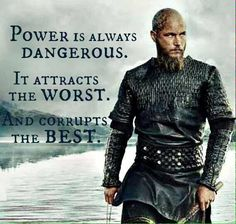 Vikinger Tattoo - He was his own undoing, with his ambition and all. Ragnar Lothbrok Quotes, Ragnar Lothbrok Vikings, Ragnar Quotes, Lagertha, Vikings Tv Series, Vikings Tv Show, Wisdom Quotes, Life Quotes, Qoutes