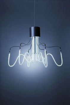 Neoline Lamps by Boa Design are Brilliantly Charming #Chandeliers trendhunter.com