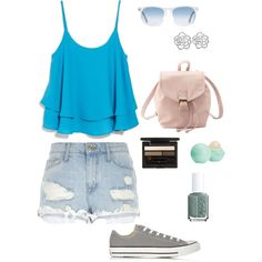 Untitled #19 by troixmac on Polyvore featuring polyvore, fashion, style, MANGO, River Island, Converse, Charlotte Russe, Bling Jewelry, Oliver Peoples, Clé de Peau Beauté, Eos and Essie