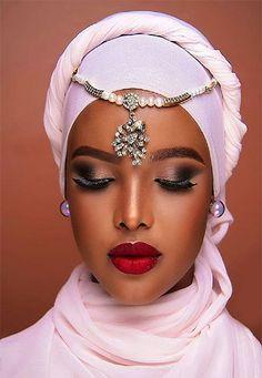 African Makeup, African Beauty, African Women, African Fashion, Black Women Art, Beautiful Black Women, Beautiful Ladies, Date Night Makeup, Head Scarf Styles